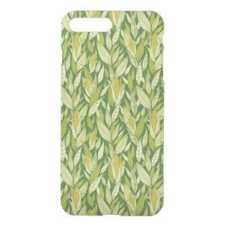 Corn plants pattern background iPhone 8 plus/7 plus case