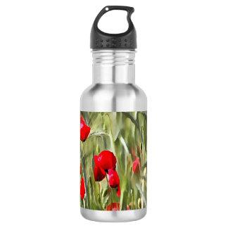 Corn Poppies 532 Ml Water Bottle