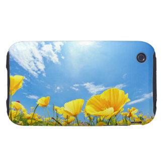 Corn Poppy Field iPhone 3 Tough Cover