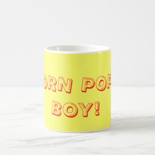 CORN POPS BOY! COFFEE MUG