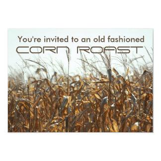 Corn Roast, Field Of Corn Autumn Invitation