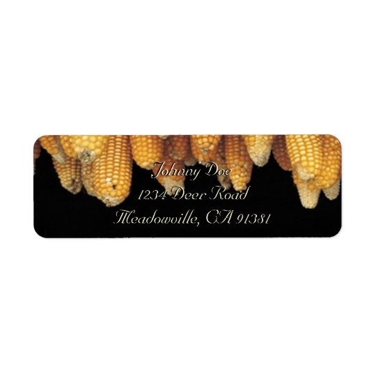 Corn Row Avery Label Return Address Label