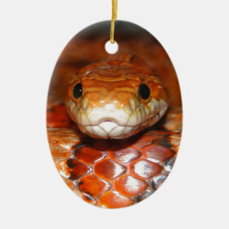 Corn Snake Christmas Ornament