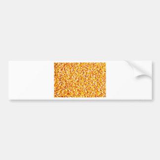 Corn texture bumper sticker