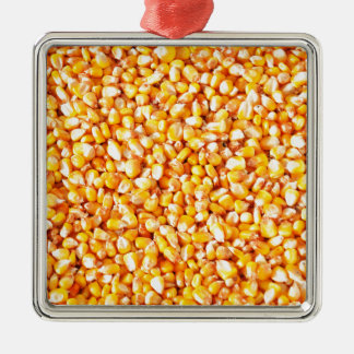 Corn texture christmas ornament