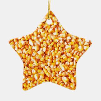 Corn texture christmas ornament
