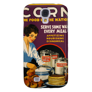 Corn The Food of the Nation Galaxy S4 Case
