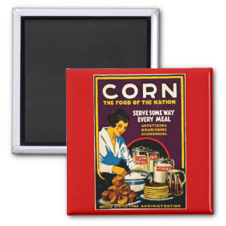 Corn - The Food of the Nation Magnet