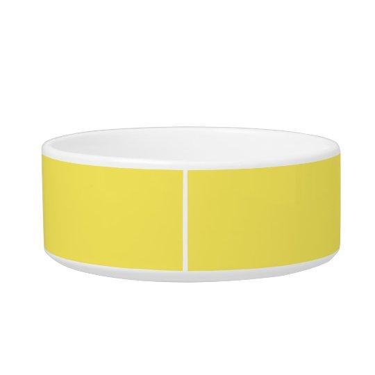 Corn Upscale One Colour Cat Food Bowls