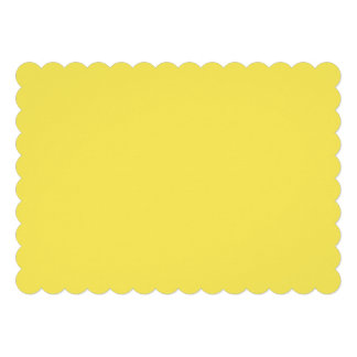 Corn Vibrant Solid Colored Card