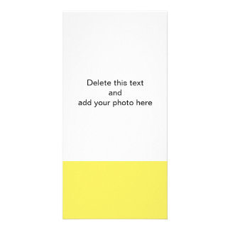 Corn Vibrant Solid Colored Picture Card