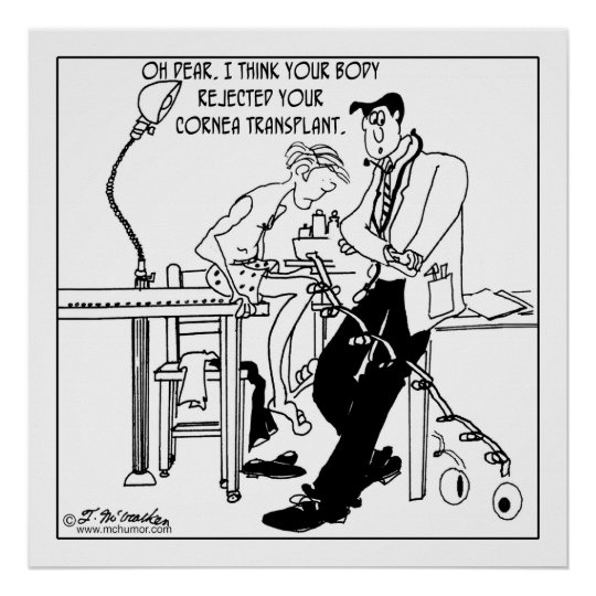 Cornea Transplant Rejection Poster