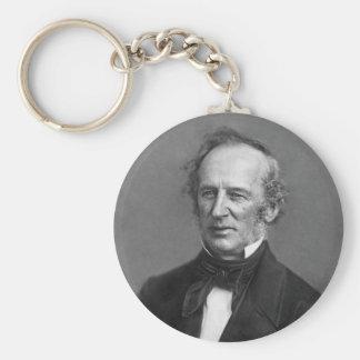 Cornelius Vanderbilt Daguerreotype Portrait Key Chain