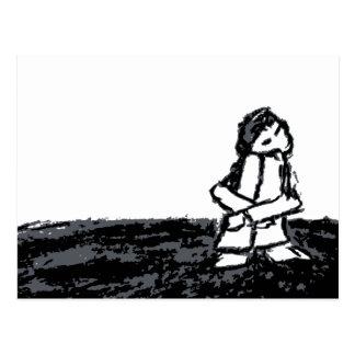 corner kid postcard