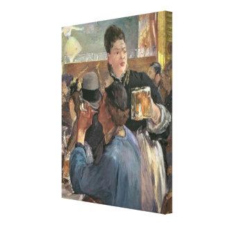 Corner of a Cafe-Concert, 1878-80 Stretched Canvas Prints