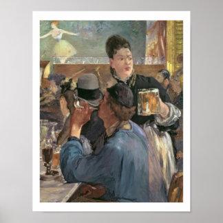 Corner of a Cafe-Concert, 1878-80 Poster