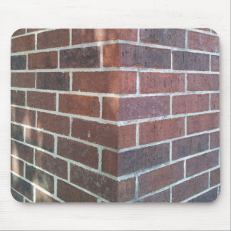 Corner of a Red Brick Building. Mouse Mat