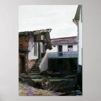 Corner of Centulle (Lugo) /Nook of Centulle (Lugo) Poster