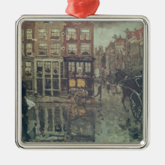Corner of Leidsche Square, Amsterdam Christmas Ornament