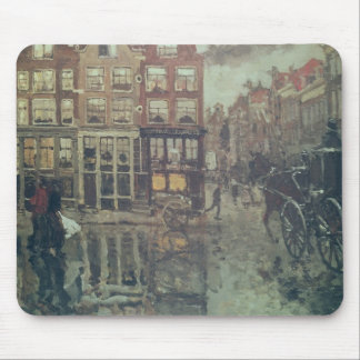 Corner of Leidsche Square, Amsterdam Mouse Mat