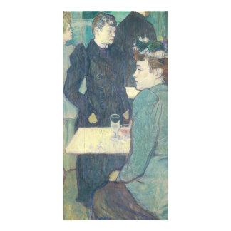 Corner of Moulin de la Galette by Toulouse-Lautrec Personalized Photo Card