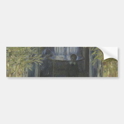 Corner of the Apartment by Claude Monet Bumper Sticker