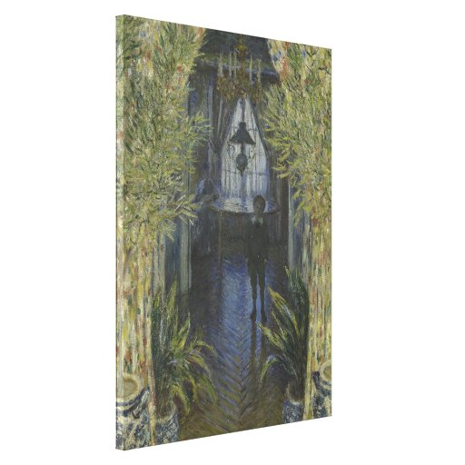 Corner of the Apartment by Claude Monet Stretched Canvas Prints