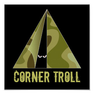 Corner Troll Camper Print