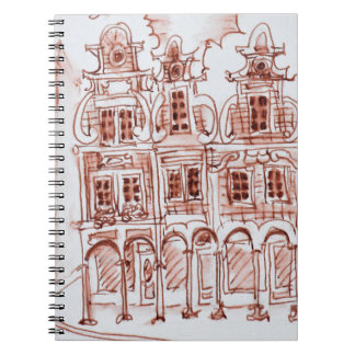 Corner view of the Grand Place | Arras, France Notebooks