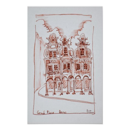 Corner view of the Grand Place | Arras,