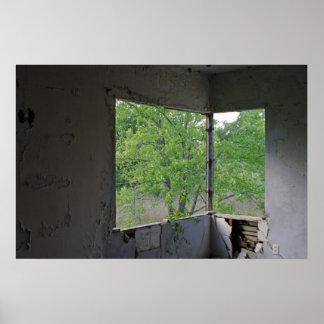 Corner Window Poster