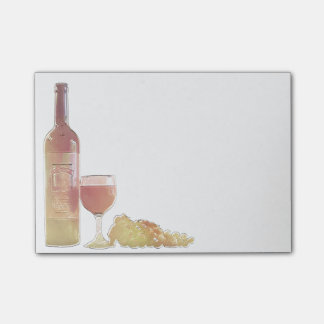 Corner Wine Pastel Post-it Notes