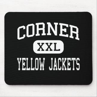Corner - Yellow Jackets - High - Warrior Alabama Mouse Pad