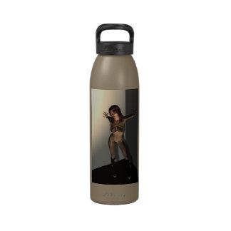 Cornered Liberty Bottle Water Bottle