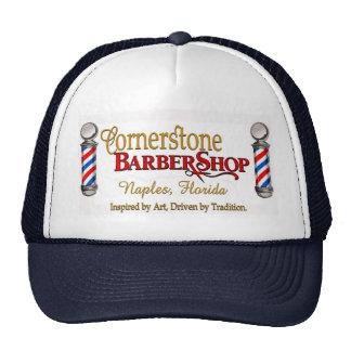 Cornerstone Barbershop Trucker Hat