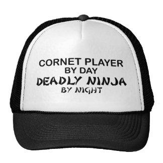 Cornet Deadly Ninja by Night Trucker Hat