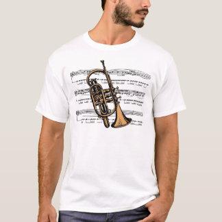 Cornet musical 08 B T-Shirt