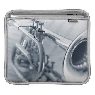 Cornet on Music Sheets iPad Sleeve