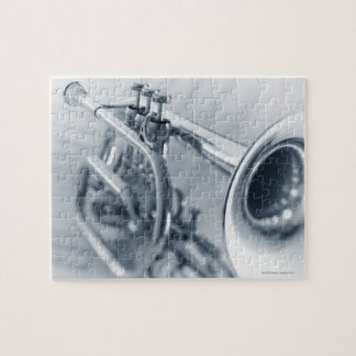 Cornet on Music Sheets Jigsaw Puzzle