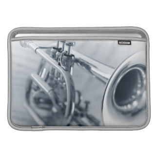 Cornet on Music Sheets Sleeve For MacBook Air