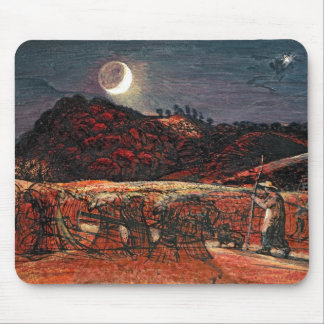 Cornfield by Moonlight, 1830 Mouse Mat