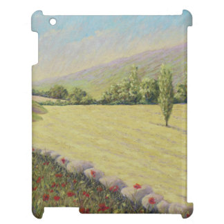 Cornfield near Eymet, Dordogne Pastel iPad Case