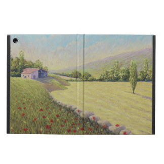 Cornfields near Eymet, Dordogne, France in Pastel iPad Air Case