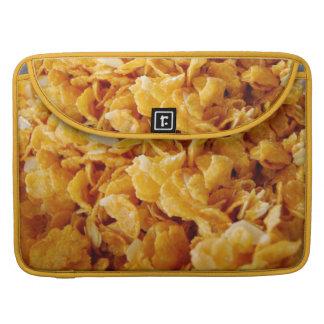 Cornflakes on MacBook Pro sleeve