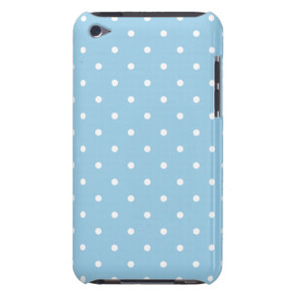 Cornflower 50s Style Polka Dot iPod Touch G4 Case