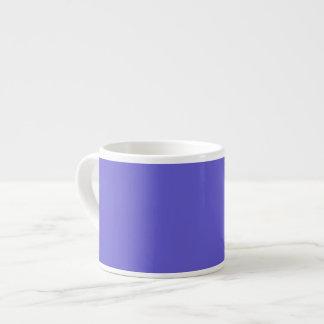 Cornflower Blue Background on a Mug Espresso Mug