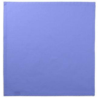 Cornflower Blue Background on a Napkin