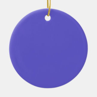 Cornflower Blue Background on an Ornament