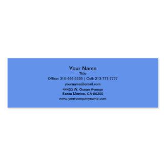 Cornflower Blue Business Cards