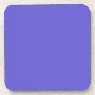 Cornflower Blue Cork Coaster